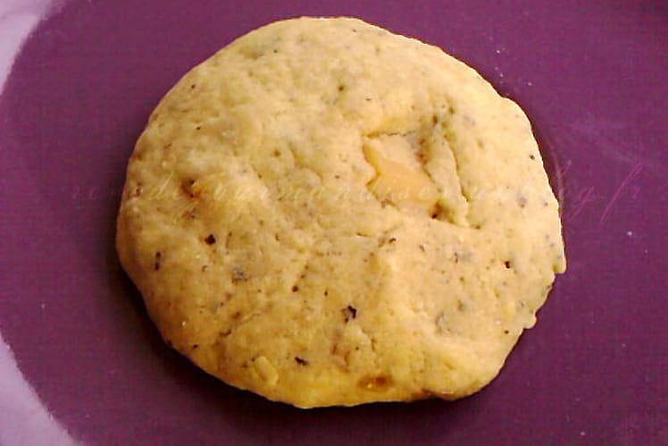 Cookies aux noisettes et aux éclats de caramel