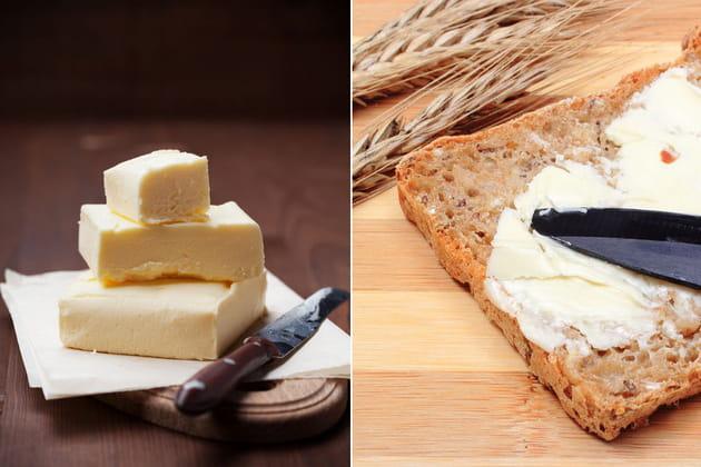 Beurre demi-sel ou margarine à tartiner ?
