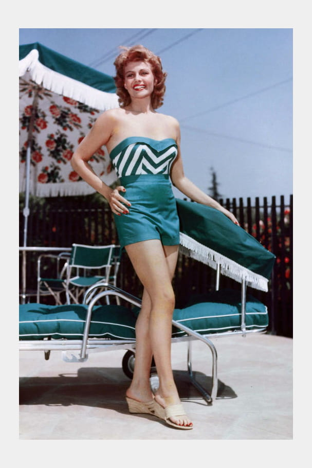 Rita Hayworth, bombe anatomique