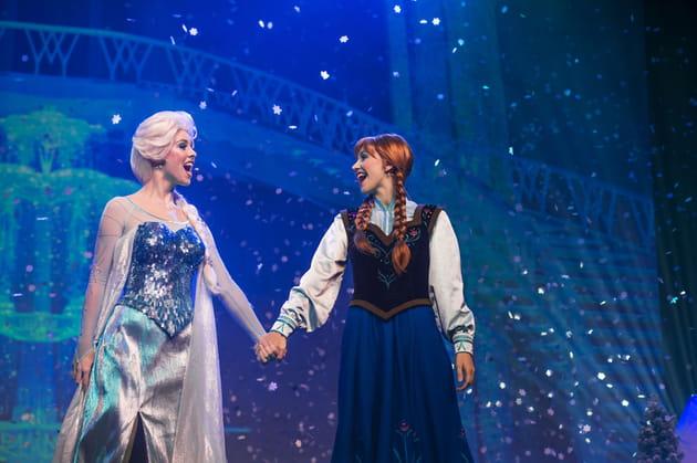 Chantez avec la Reine des Neiges
