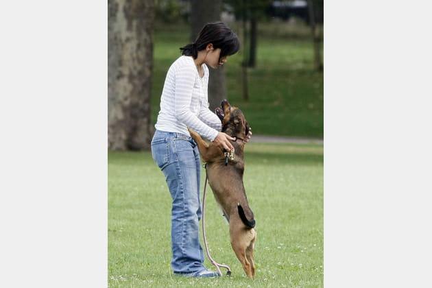 Lily Allen au parc avec son chien