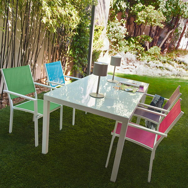 Salon De Jardin Color Block De Castorama