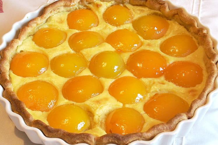 Tarte aux abricots légère et parfumée