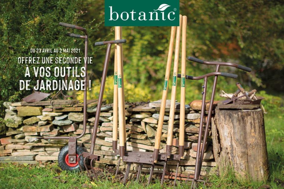 Collecte d'outils de jardinage par Botanic: dates et infos