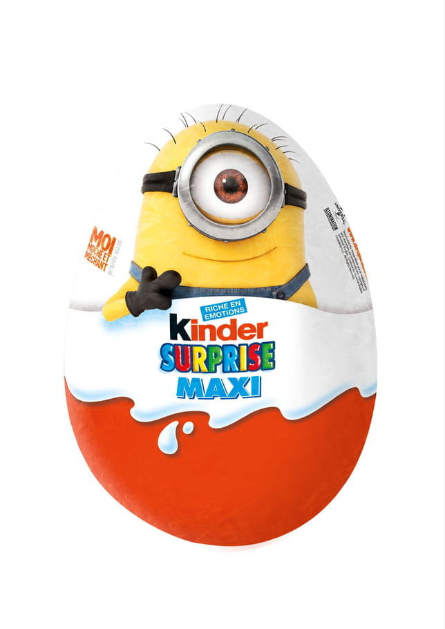 Kinder Surprise Maxi Minion