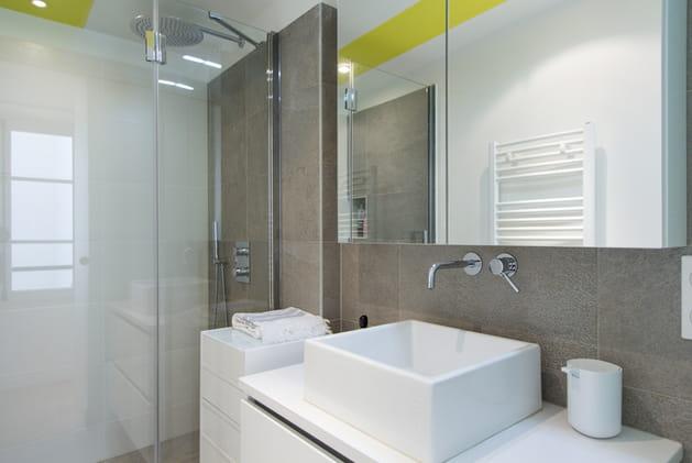 Une salle d'eau optimisée