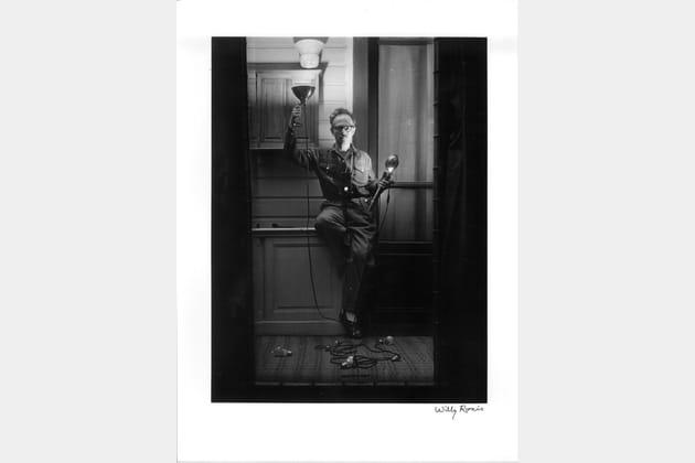 Autoportrait aux flashes - Paris, 1951