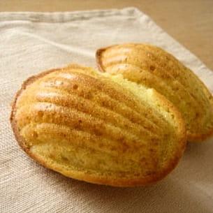 madeleines faciles aux amandes