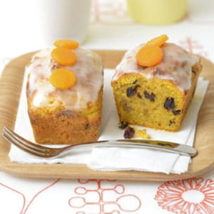 carrot cake aux fruits secs