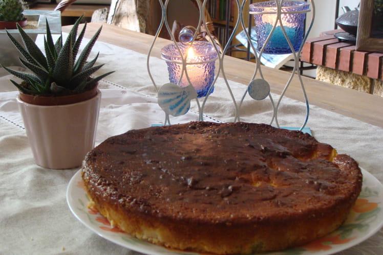 Gâteau aux abricots et noisettes