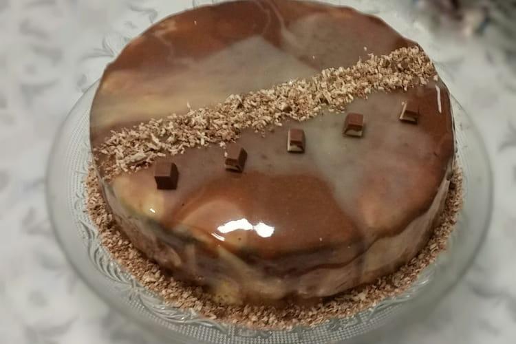 Gâteau génoise à la crème