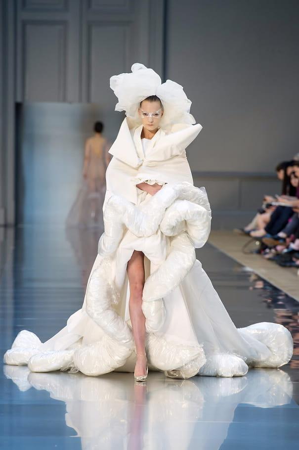 Robe de mariée Maison Martin Margiela, confortable