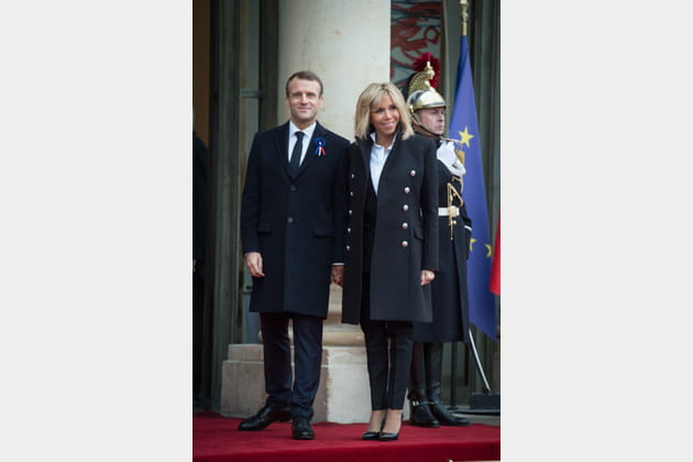 Brigitte Macron le 11novembre 2018