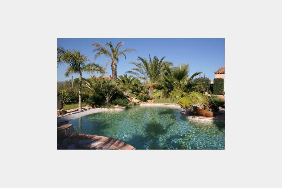 Spa avec d bordement dans la piscine des piscines de for Piscine avec spa a debordement