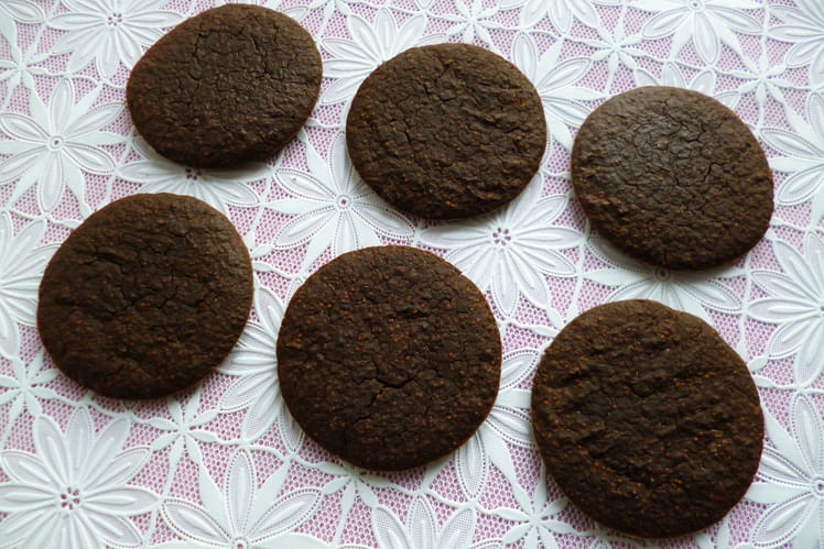 Cookies crus hyperprotéinés chanvre cacao chia baobab psyllium et sirop de yacon