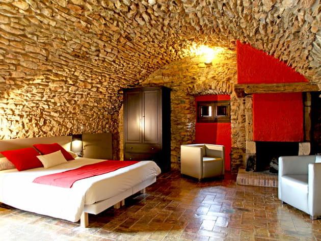 Une cheminée à la chambre