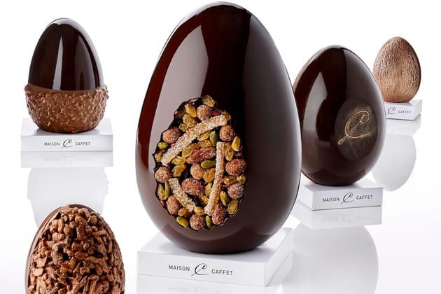Les Œufs fabuleux en chocolat de Maison Caffet