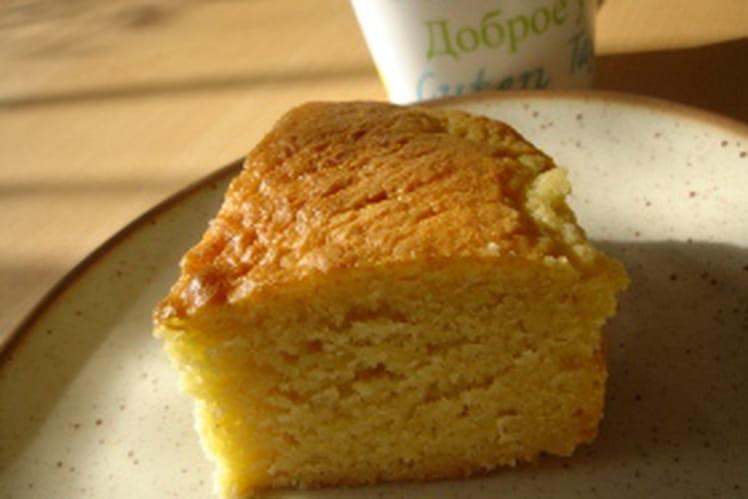 Cake au citron et au miel
