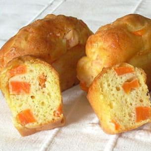 cake aux carottes et au surimi