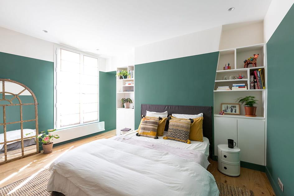 Une chambre mise au vert