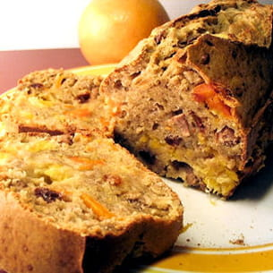 cake au canard à l'orange