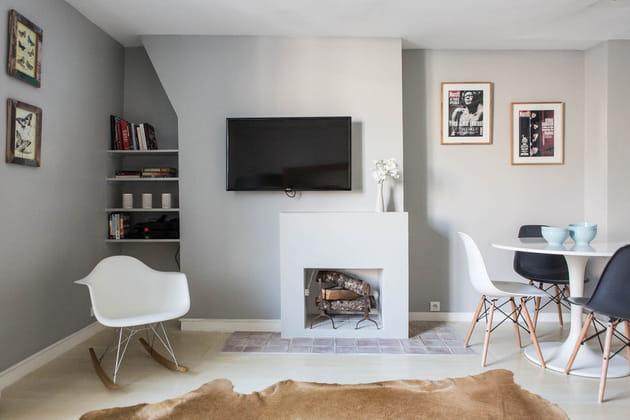Un salon minimaliste
