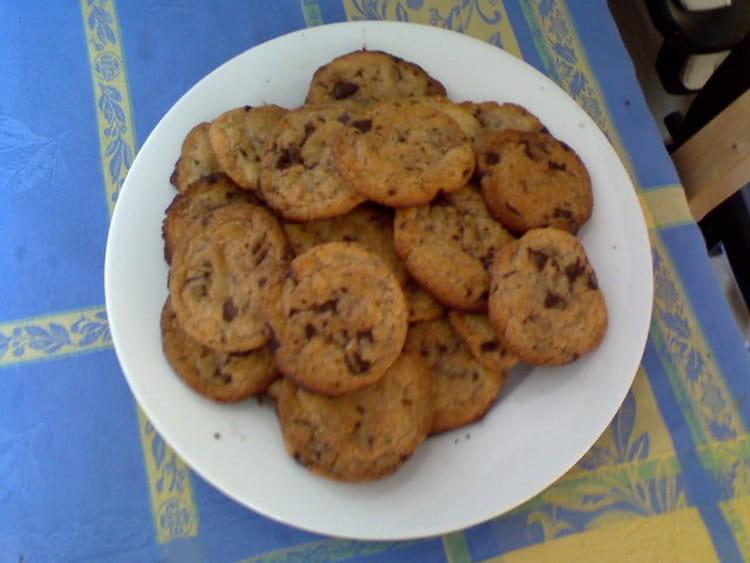 Recette De Cookies A La Poudre D Amandes Et Pepites De Chocolat La