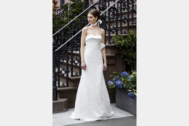 Robe de mariée bustier, Lela Rose