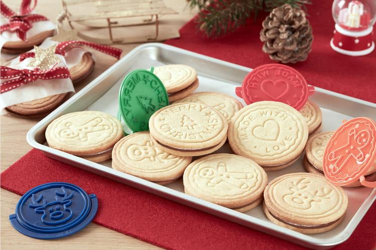 Biscuits de Noël fourrés au Nutella®