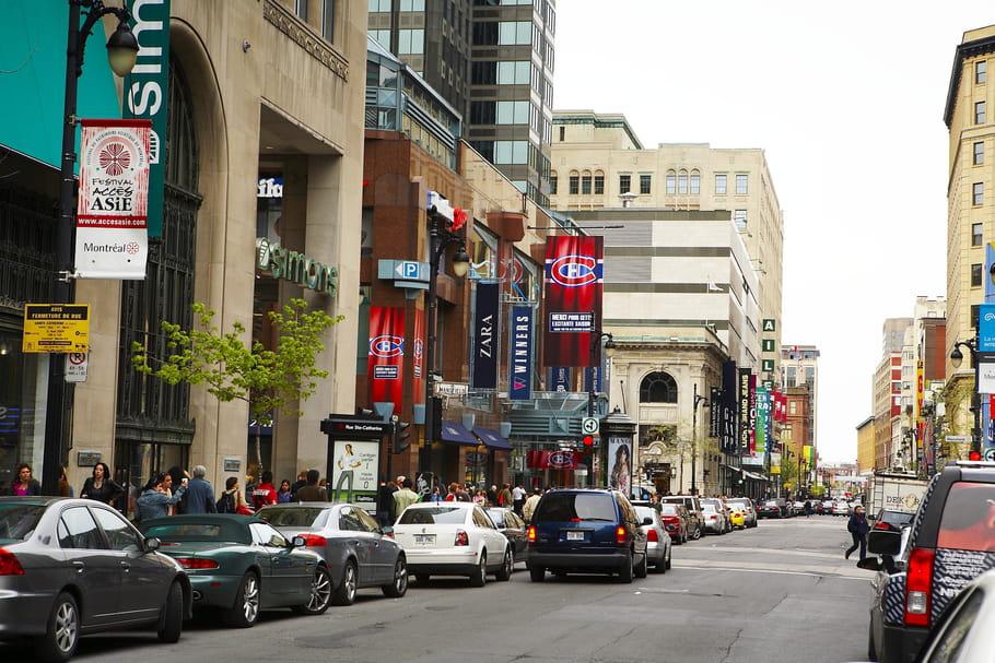 La rue Sainte-Catherine