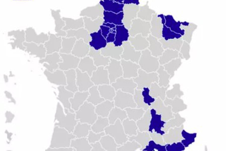 CARTE COVID : départements sous surveillance, incidence par commune...