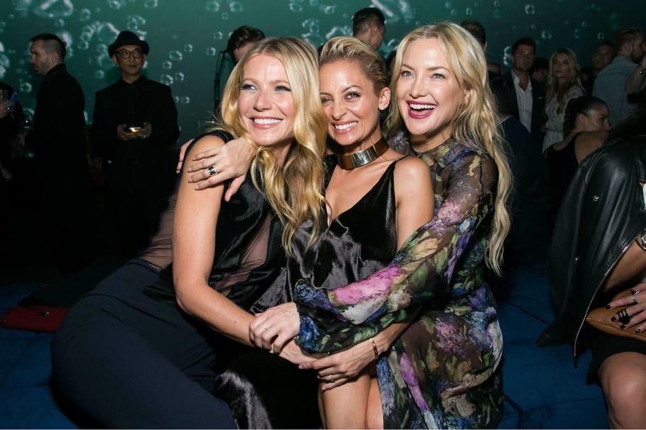 Avec Gwyneth Paltrow et Kate Hudson