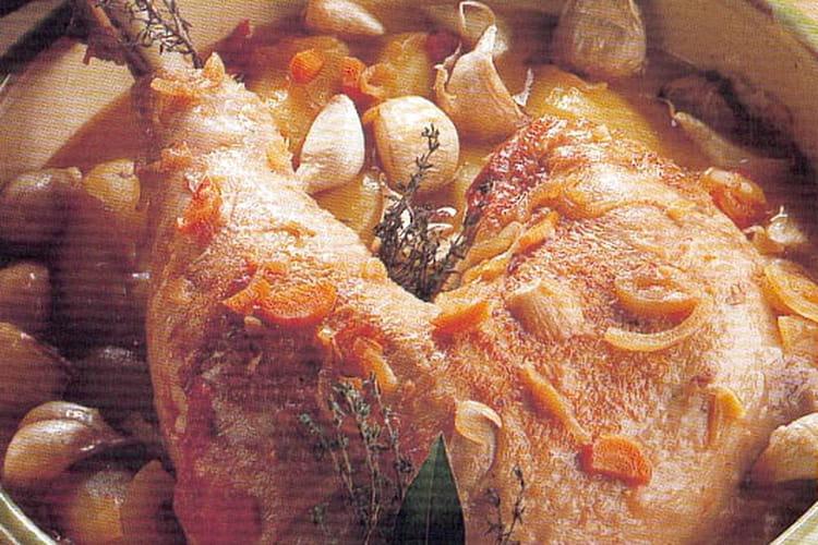 Cuisse de dinde à la provençale