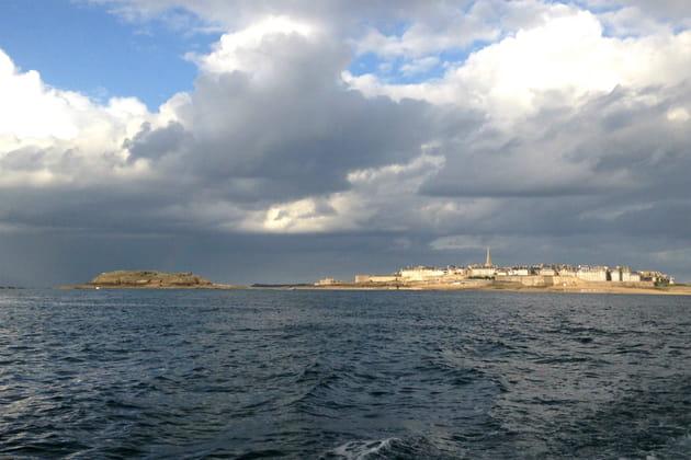 Une vue imprenable sur la baie de Saint-Malo