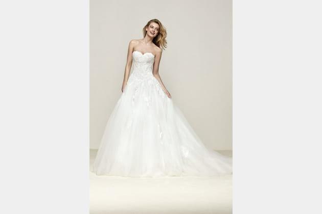 Robe de mariée Drope de Pronovias