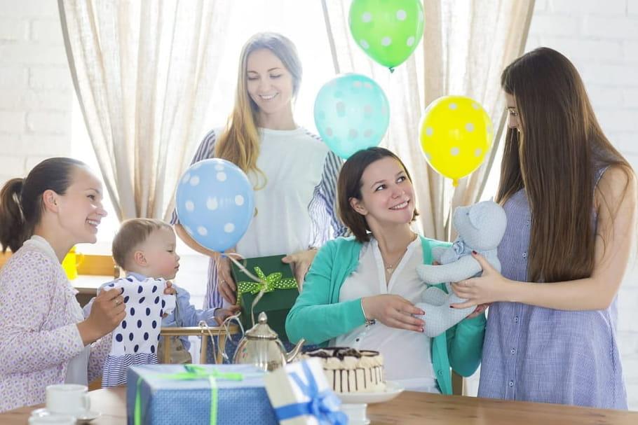 12idées de jeux pour une baby shower entre filles