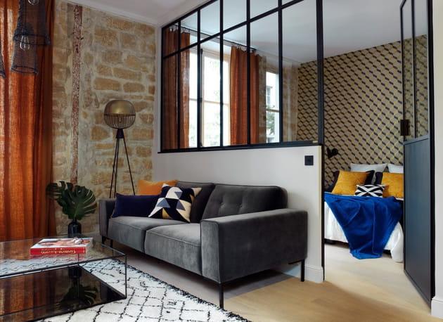 La métamorphose d'un studio en appartement deux-pièces