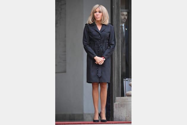 Brigitte Macron le 9octobre 2019