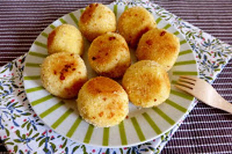 Boulettes de pommes de terre à la feta