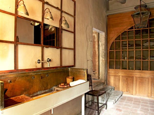 Salle de bains ancienne