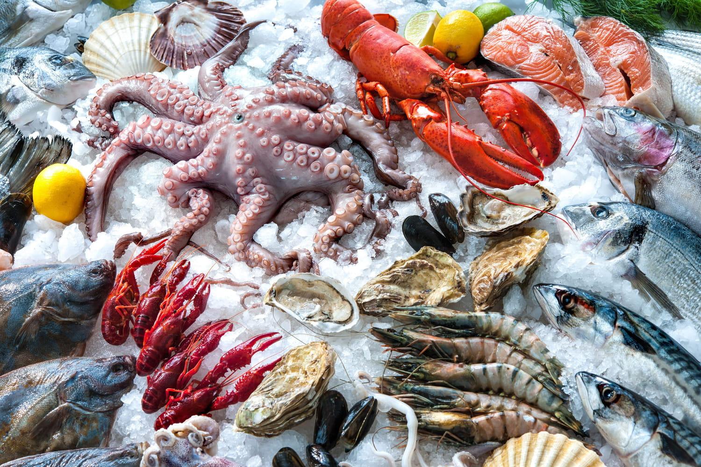 Tout sur les poissons et fruits de mer: les choisir, les conserver, les cuisiner...