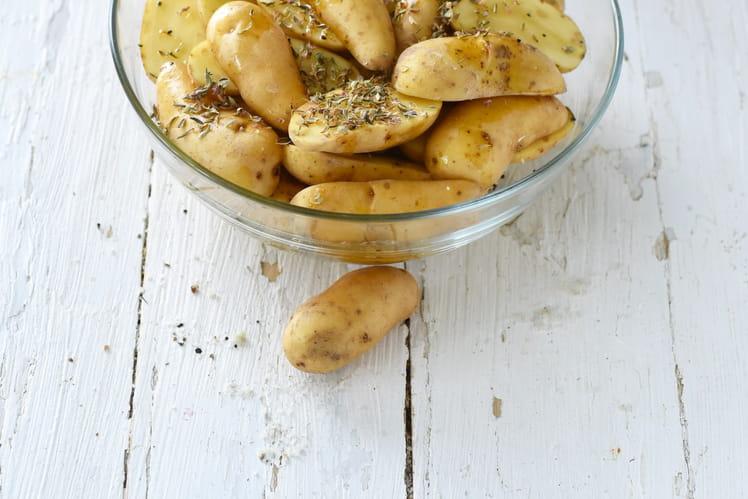Potatoes de Ratte du Touquet aux herbes de Provence