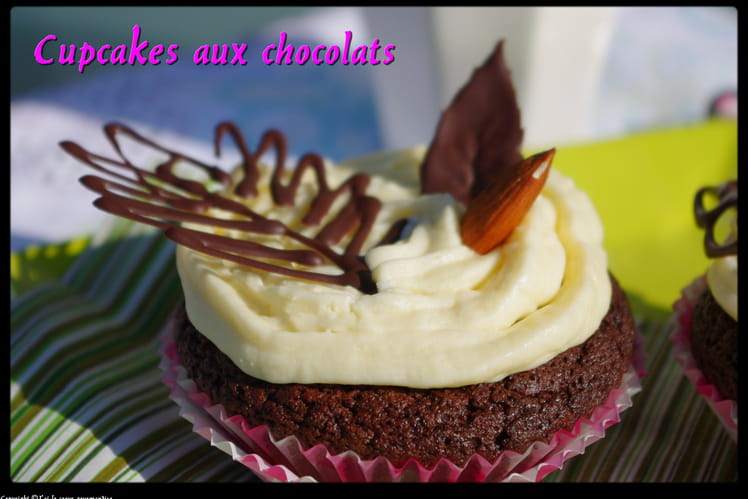 Cupcakes aux chocolats
