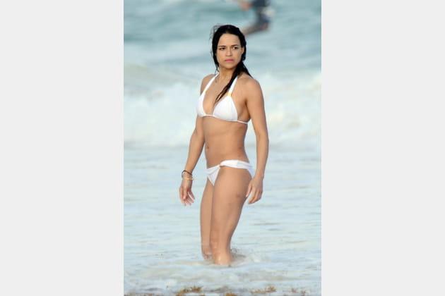 Michelle Rodriguez, immaculée