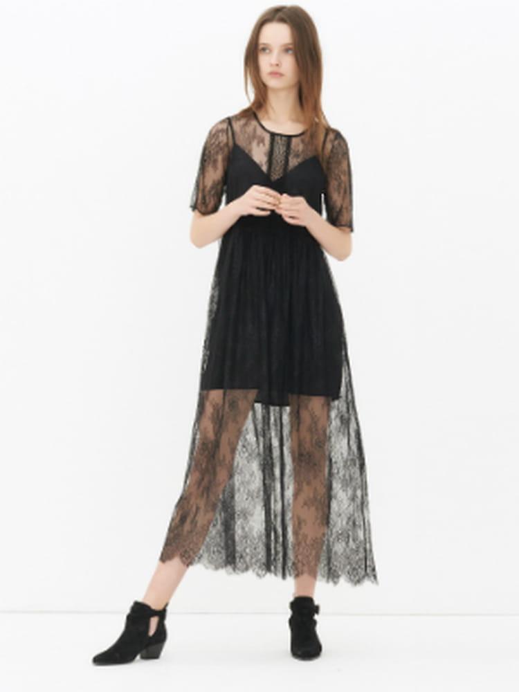 Sandro robe noir 2018
