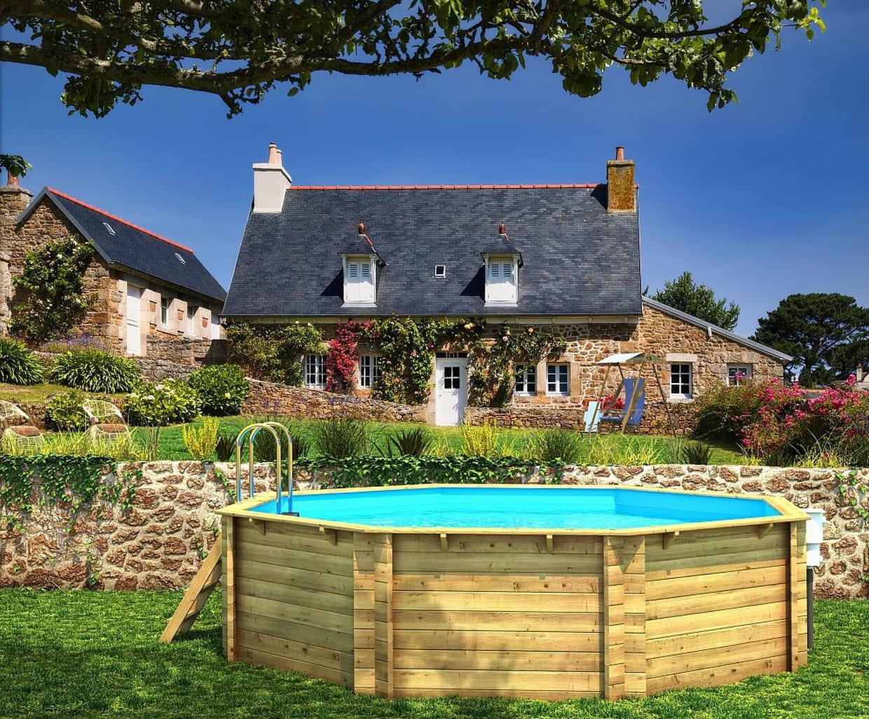 piscine ronde en bois par procopi. Black Bedroom Furniture Sets. Home Design Ideas