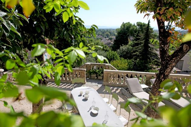 En balustrade sur la Provence