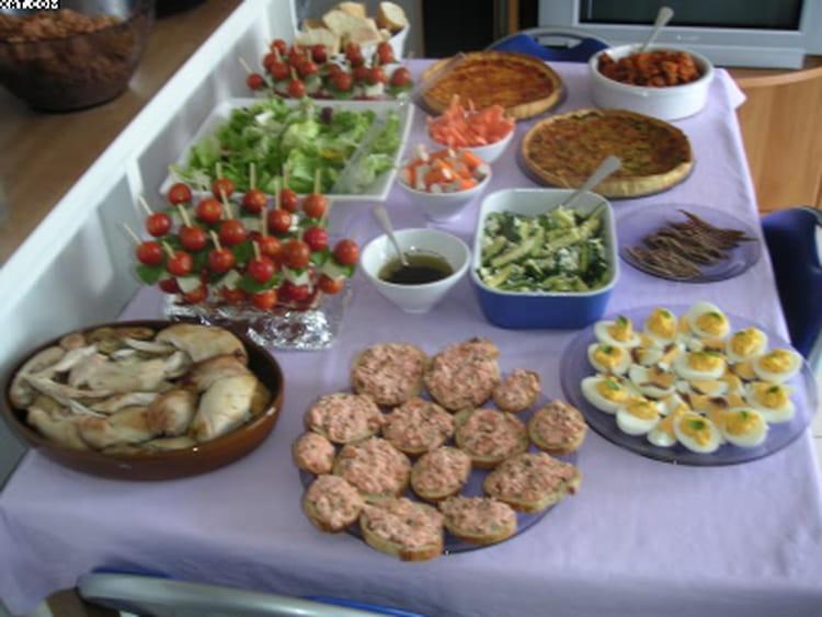 Idée Plat Anniversaire Recette de Mon buffet d'anniversaire