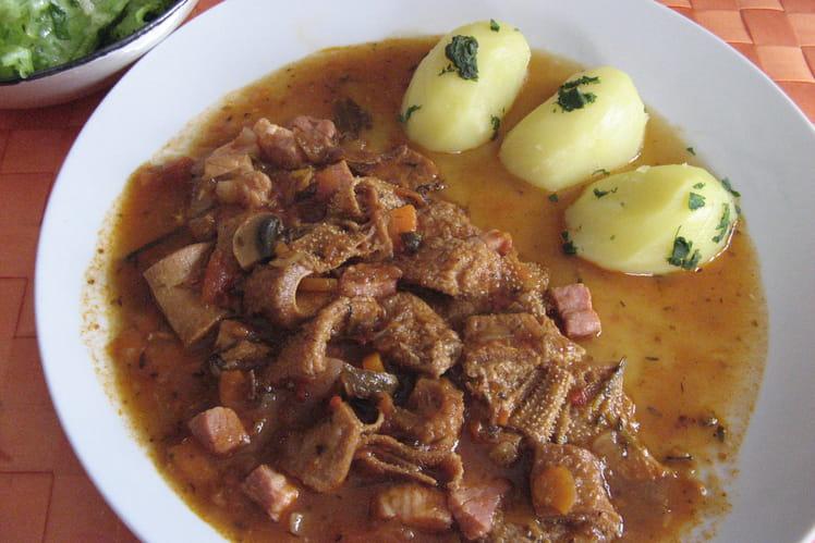 Recette de tripes milanaises la recette facile - Cuisiner la veille pour le lendemain ...