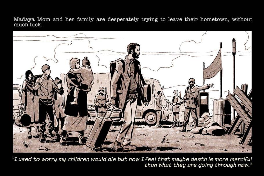 Marveltransforme une mère syrienne en héroïne de BD